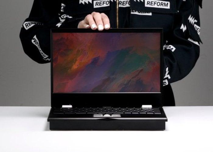 MNT Reform open source modular laptop