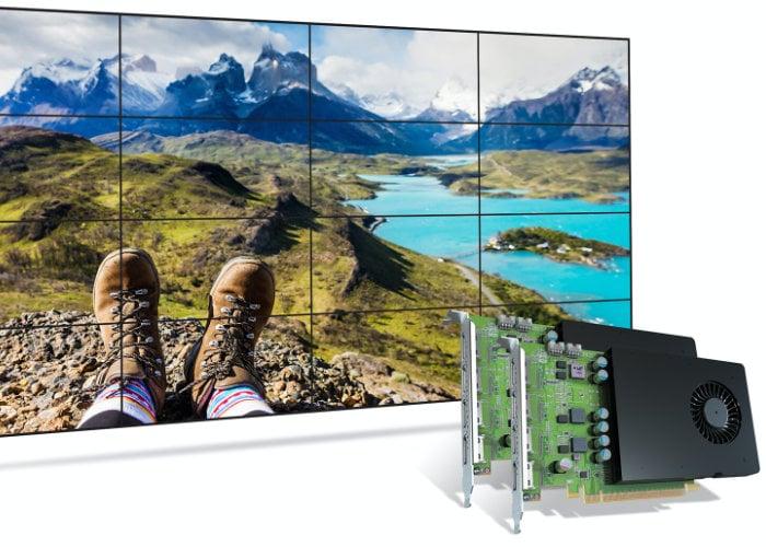 Matrox D-Series D1480 graphics card
