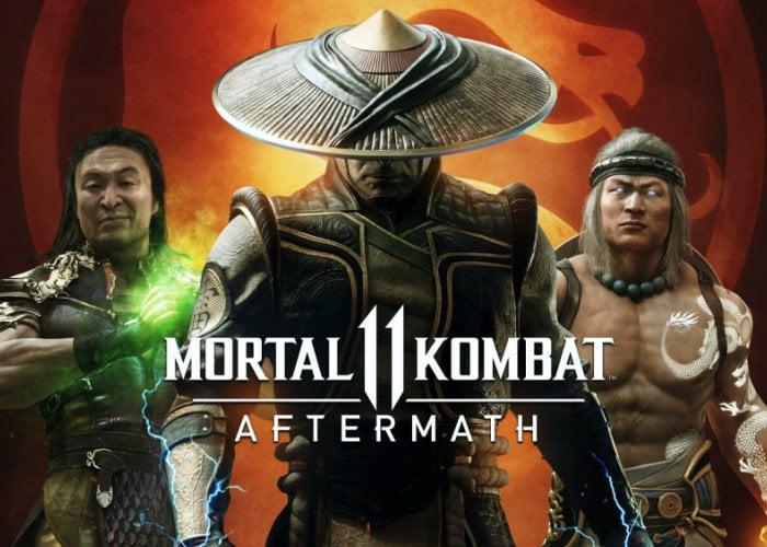 Mortal Kombat 11 Aftermath expansion