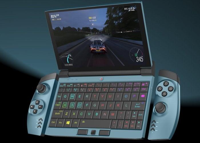 One GX handheld gaming laptop