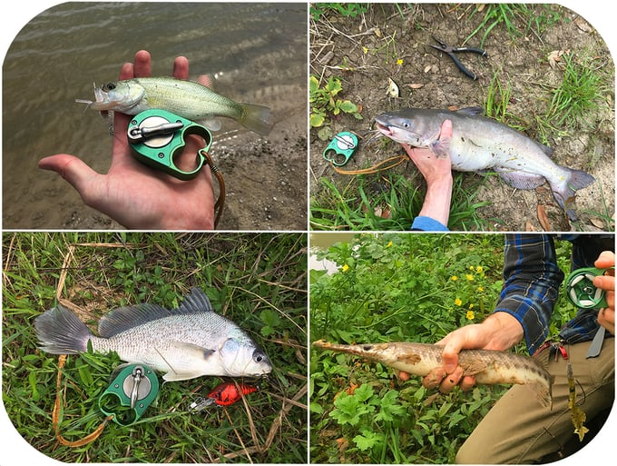 Rodless fishing reel