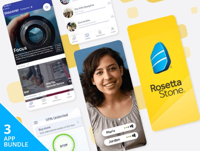 Last Chance Deal: The Social Distancing Lifetime Subscription Bundle Ft. Rosetta Stone