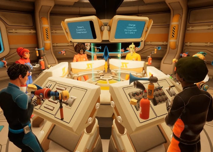 Spaceteam VR game
