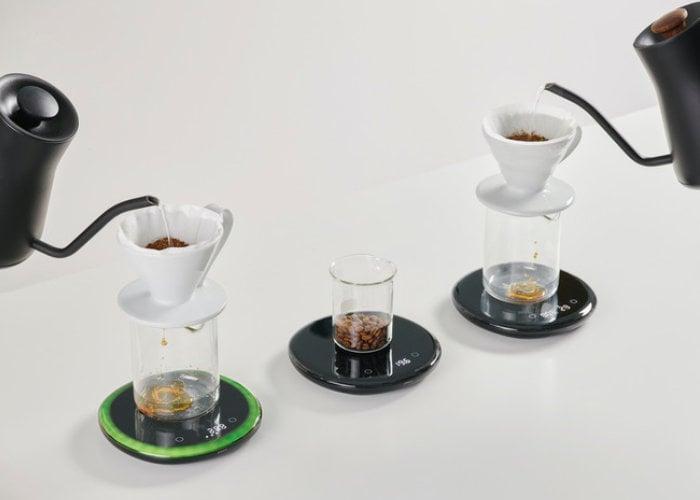 Unique POURX OURA pour over coffee scale