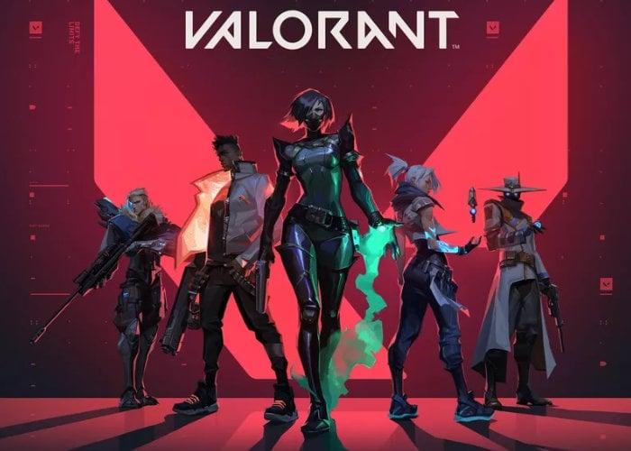 Valorant shooter