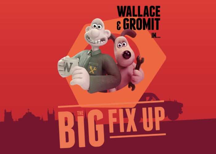 Wallace & Gromit The Big Fix Up