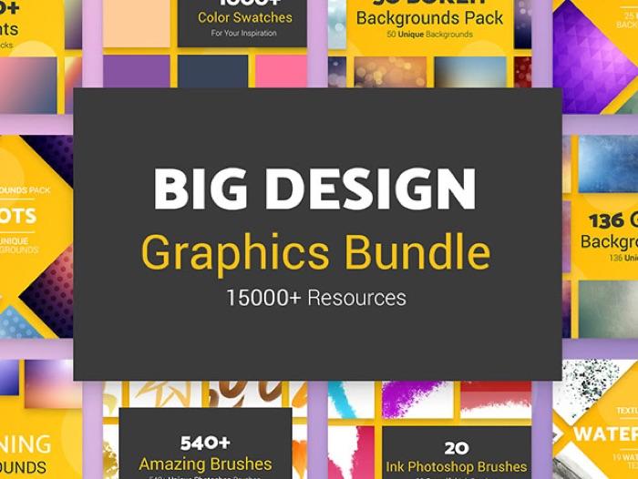 Big Design Graphic Bundle