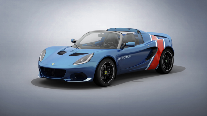 These Elise Classic Heritage Editions celebrate four great classic Lotus liveries   GRR