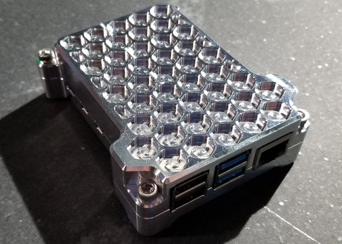 passive Raspberry Pi case