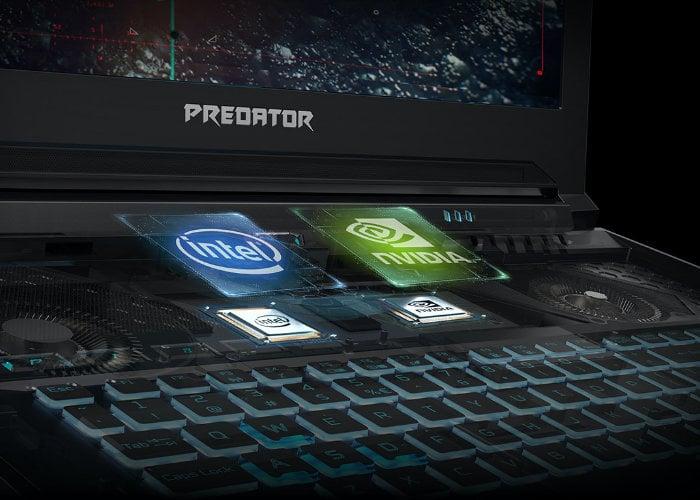 Acer Predator gaming notebooks