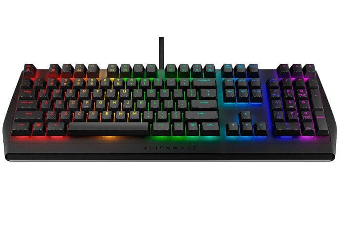 Alienware RGB mechanical gaming keyboard