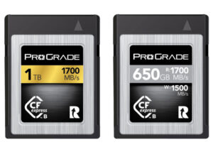 CFexpress Type B memory cards