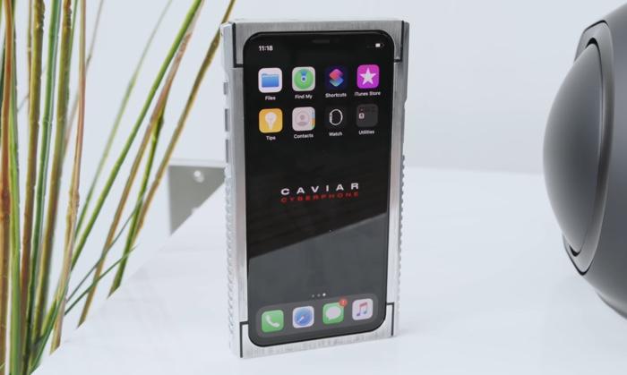 Caviar iPhone 11 Pro Cyberphone