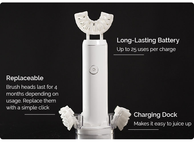 CleanFreak automatic toothbrush