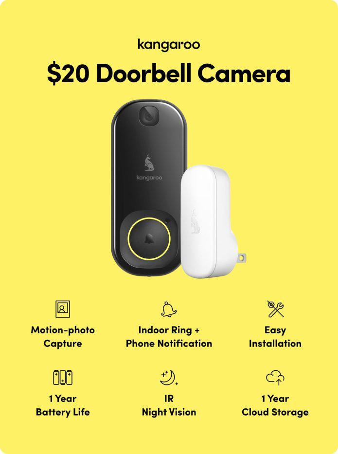 Kangaroo doorbell camera