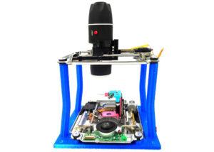 LadyBug motorized scanning macro camera