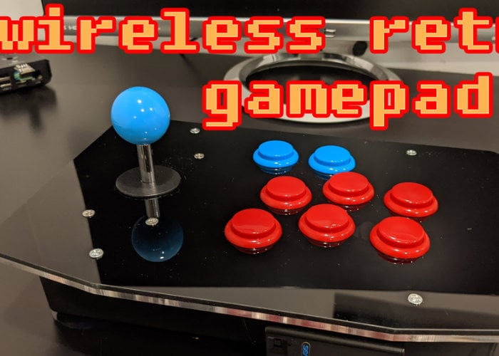 Low latency wireless arcade controller