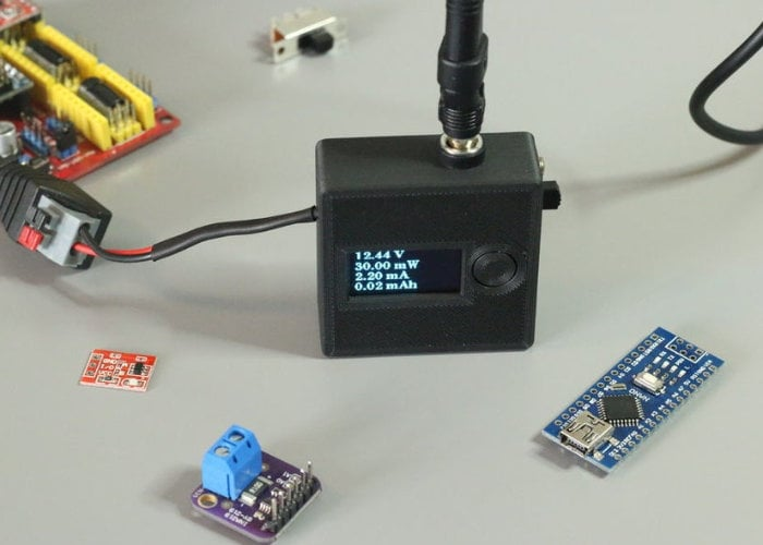 Measure voltage and current simultaneously with Tiny VA Meter - Geeky Gadgets