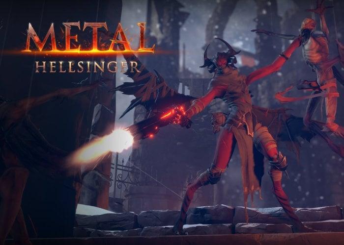 Metal Hellsinger rhythm FPS