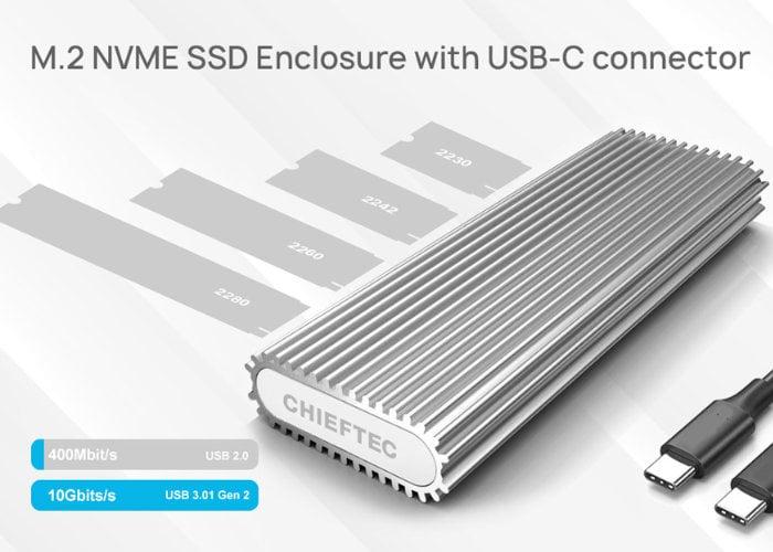 NVME SSD enclosure