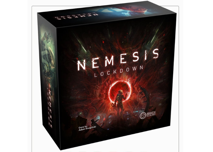 Nemesis Lockdown board game