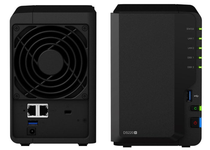 New Synology DS220+ NAS introduced from $300 - Geeky Gadgets