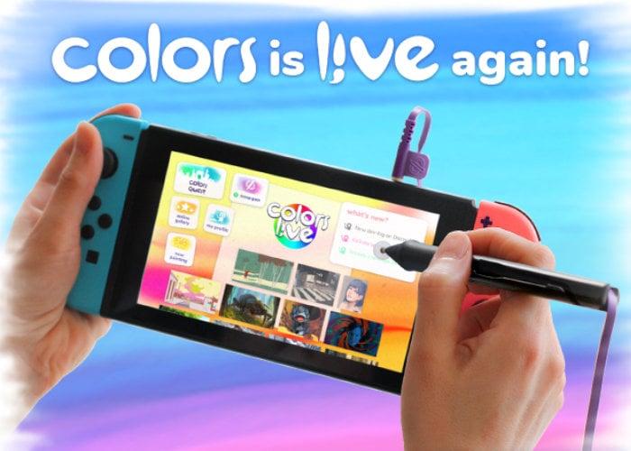 Nintendo Switch pressure sensitive stylus