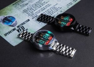 Futuristic Nixie Watch