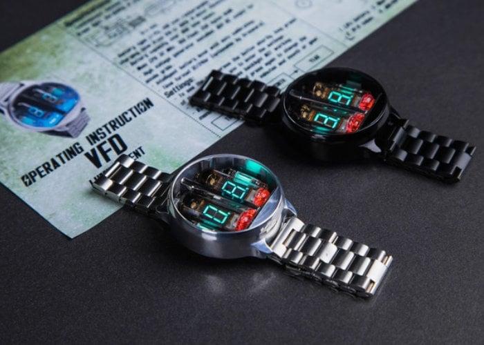 Futuristic Nixie Watch