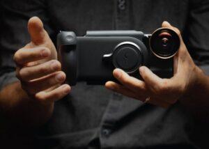ProGrip smartphone photography battery grip