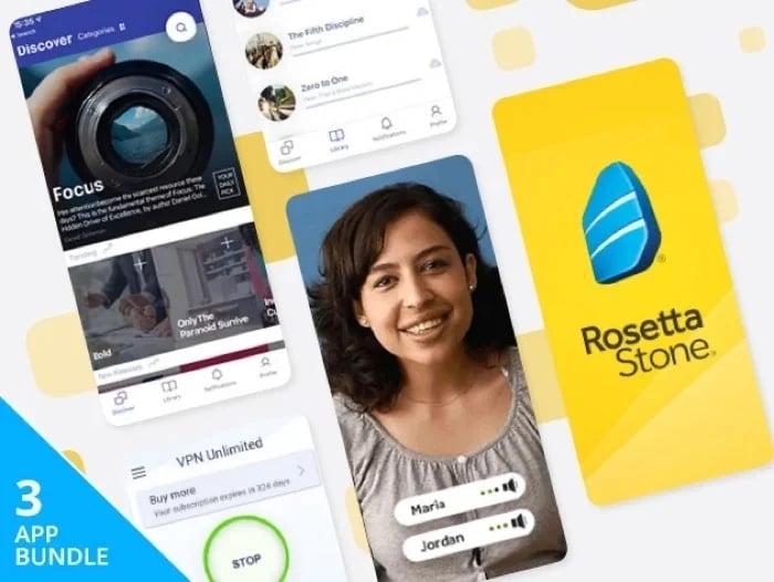 Social Distancing Lifetime Subscription Bundle Ft. Rosetta Stone