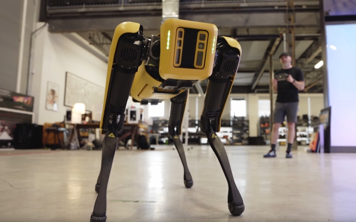 Spot Explorer robot dog
