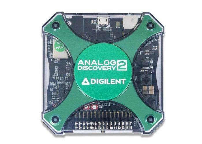 USB oscilloscope and logic analyzer