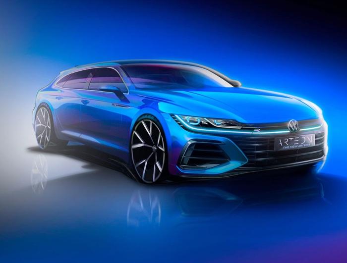 Volkswagen Arteon GT and Shooting Brake