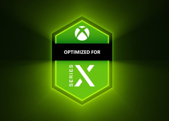 Xbox Series X optimized games