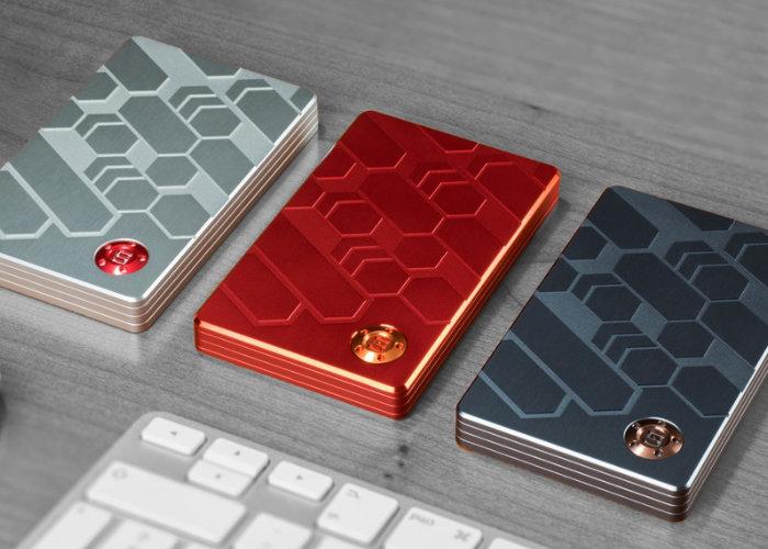 Zeus modular RFID wallet