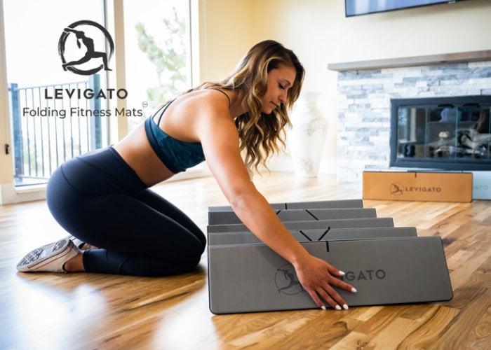 folding fitness mats
