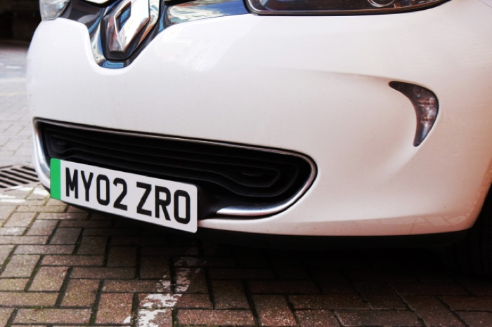 green number plates uk