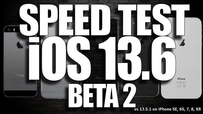iOS 13.6 Beta 2 vs iOS 13.5.1