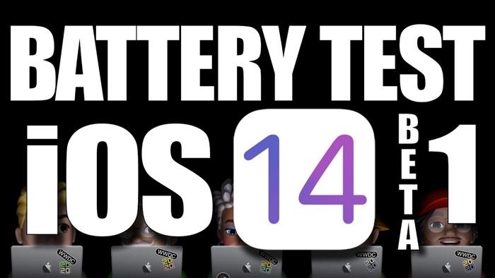 iOS 14 battery life test