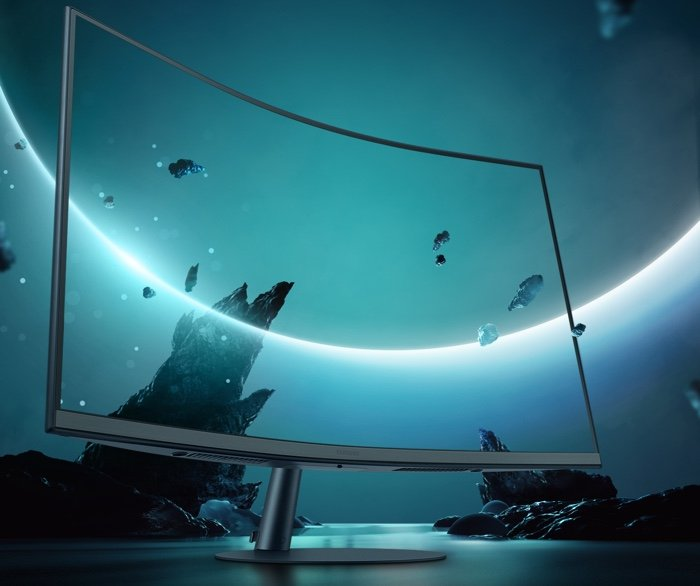 Samsung T55 curved monitors