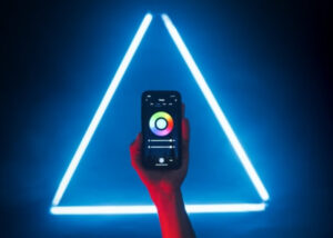 smartphone controlled LED light