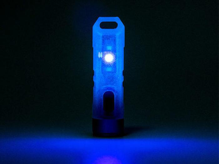 Aurora A7 GITD Keychain Flashlight