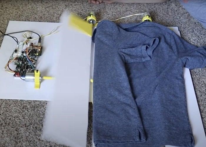 Automatic t-shirt folding machine