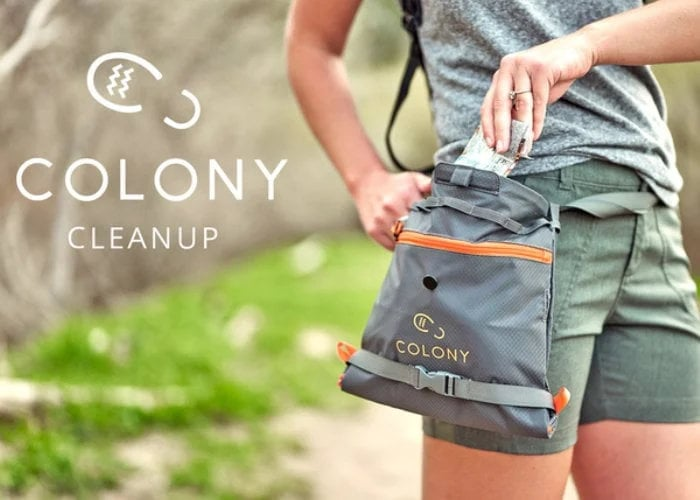 Colony Cleanup trail bag
