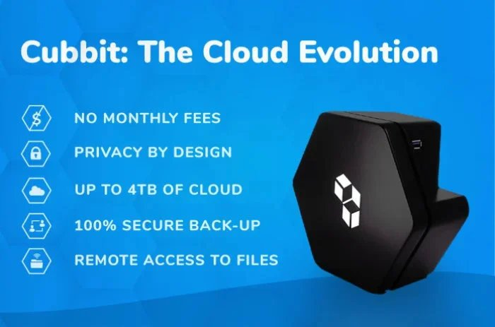 Cubbit cloud storage