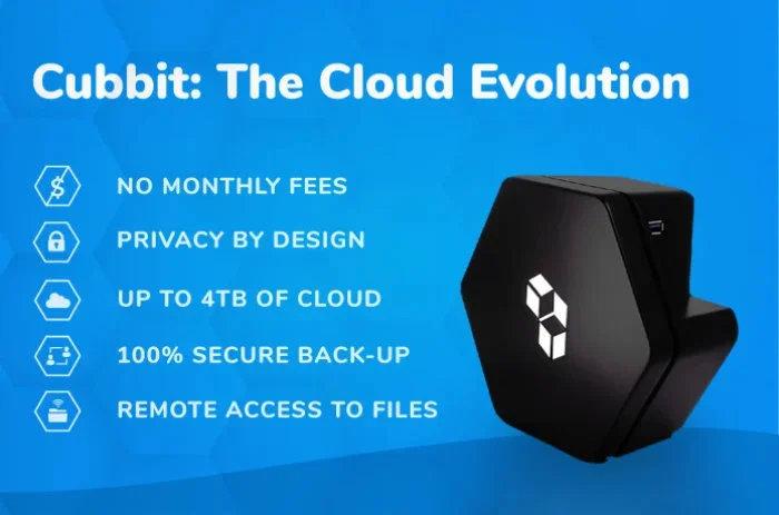 Cubbit cloud storage