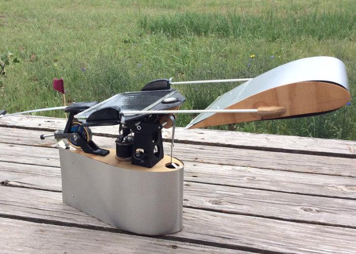 EarthWing low profile wind generator