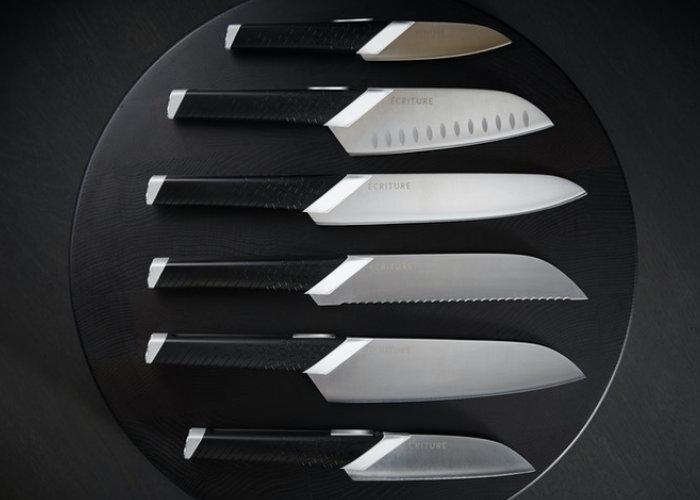 Japanese steel kitchen knives