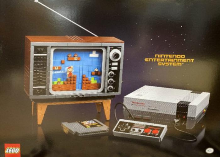 LEGO NES console